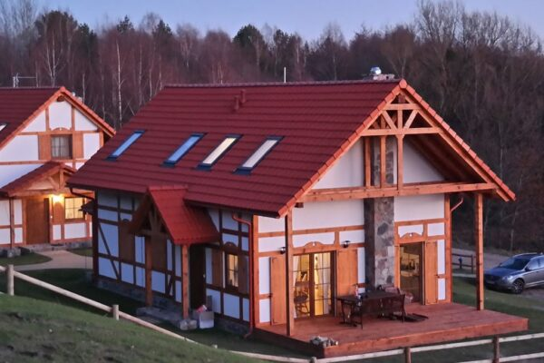 1001Vakantieparken - Country House At The Lake In Kashubia Barnowiec